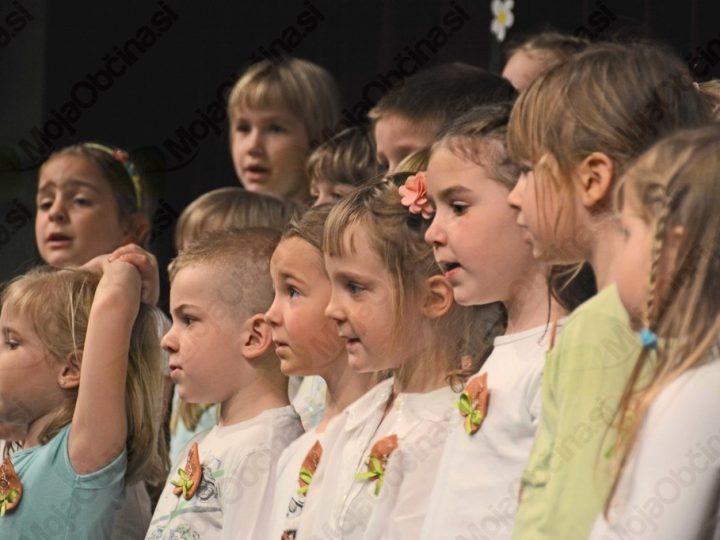 20. območna revija predšolskih pevskih zborov